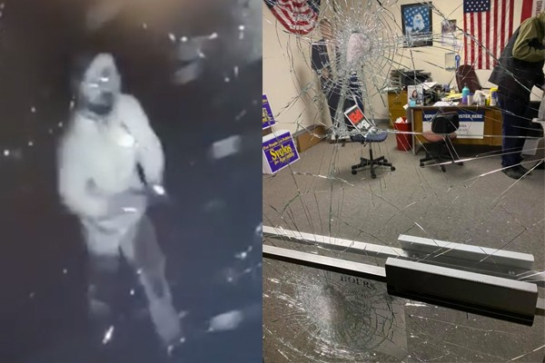 Police: Republican headquarters building vandalized by man heavily involved with Democrat fundraising