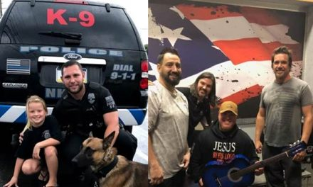 Little girl raises thousands of dollars to help her police department get a K9
