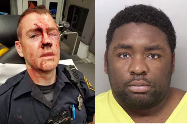 Durrell Nichols is accused of violently assaulting Officer Doug Utecht