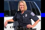 She was a mom.  A wife.  And now she's another officer who is being buried.  Help us pay tribute.