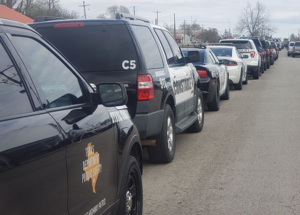 Funeral procession for fallen deputy brings out first responders of all industries