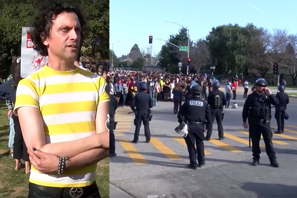 'Woke' students block traffic, demand society pays them more. Police reward them with handcuffs.