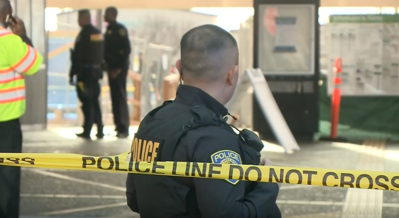 Man pulls gun on cops in San Francisco after running off train. Turns out that was a bad idea.