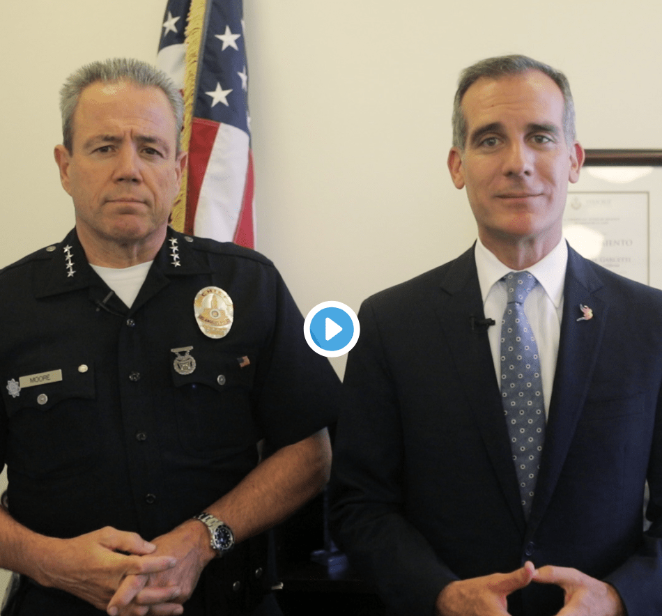 Los Angeles Mayor and Police Chief teach illegal immigrants how to avoid being deported