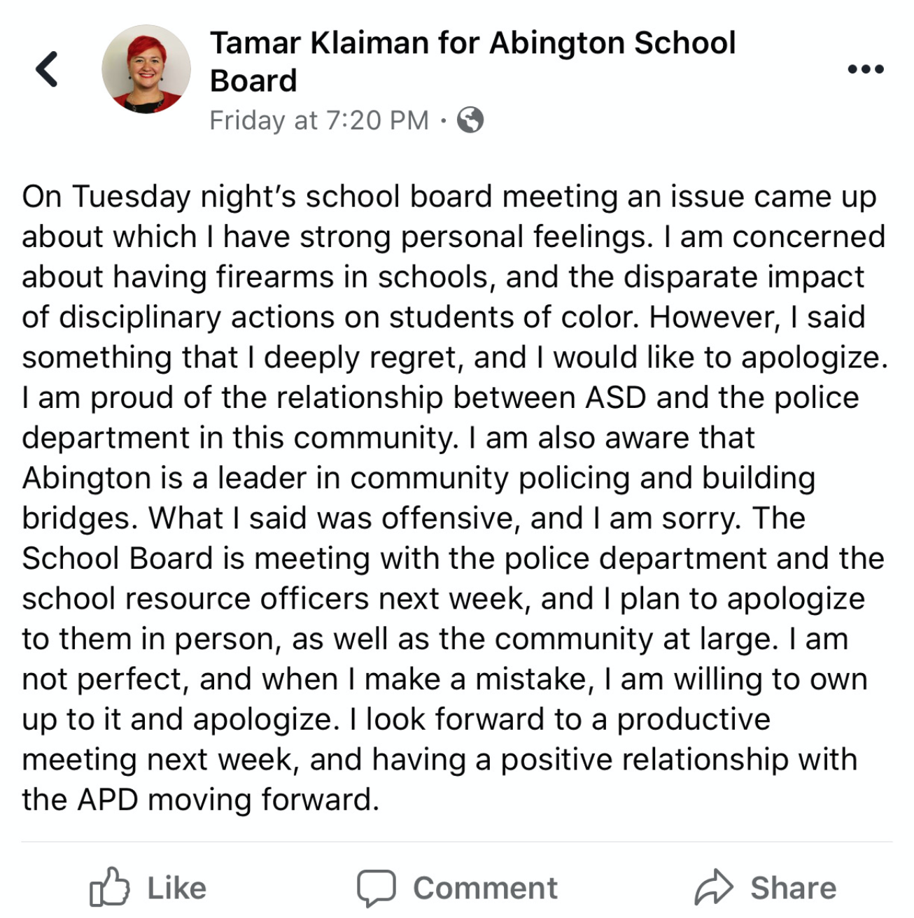 Town demands school board member's removal after her anti-police rant