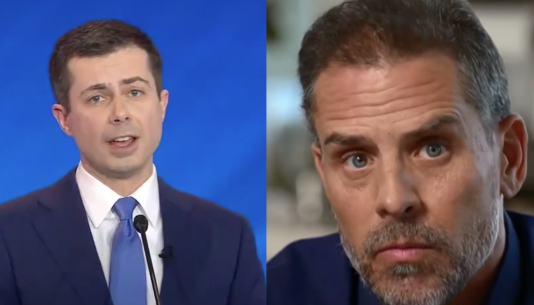 Mayor Pete says Hunter Biden off limits for investigations. So much for law and order, right?