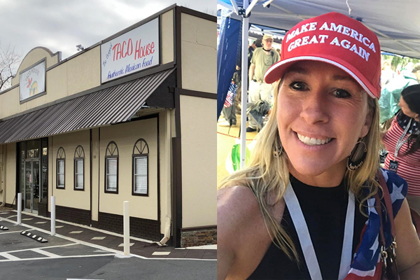 Taco House cancels pro-police candidate's fundraiser at last minute after seeing attendees wear Trump hats