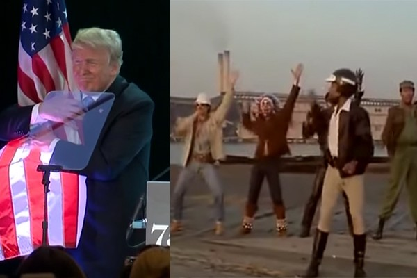"""'Macho Man"""" President Trump gets blessing from The Village People to use their music at his rallies"""