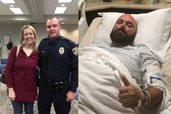 Texas officer facing termination over line of duty injury. Instead of having his back, his chief is stabbing him in it.