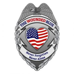 The Wounded Blue Logo