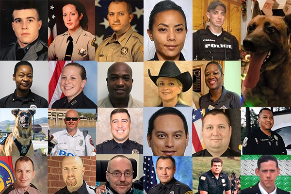 So far in 2020, 21 officers have been killed in the line of duty. We're still waiting for the media outrage.