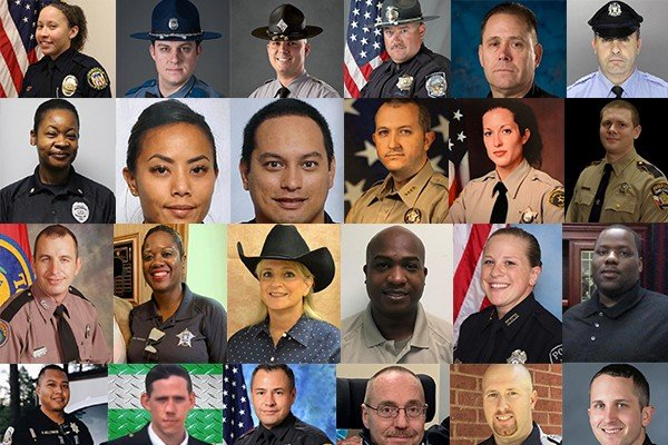 We've lost 31 officers in the line of duty this year, let's share their names since the media is silent.