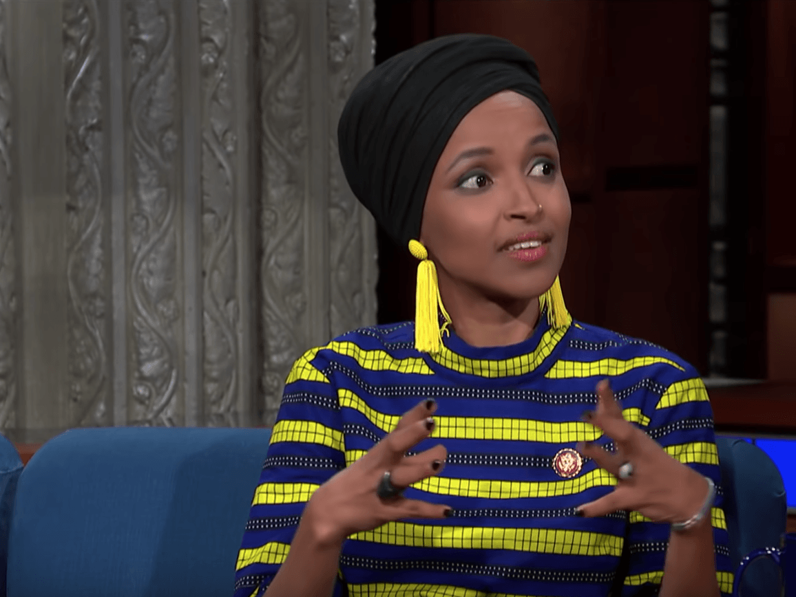 """Squad"" member Ilhan Omar claims ""American power comes from racism"". If that's true, why is she in power?"