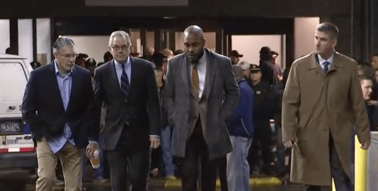 District Attorney Larry Krasner blocked from entering hospital by officers after corporal murdered