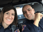 Arkansas Cop loses year-long battle with cancer. Rest easy, sister.