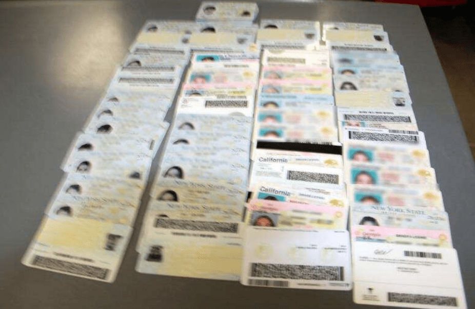 "CBP intercepts thousands of fake IDs coming in from China: ""Can be associated with terrorist activity."""