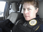 She was injured in the line of duty. Now she's a reality television star fighting for other wounded officers.