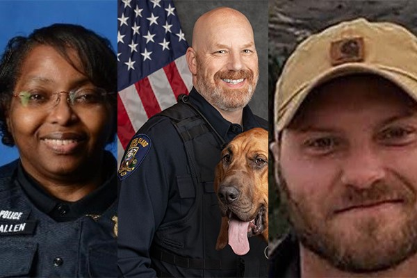 We just lost three more officers. Let's make sure their faces and stories are not forgotten.