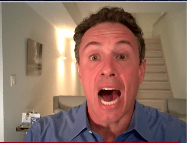 Senior citizen bicyclist busts Chris Cuomo breaking quarantine, gets threatened by the CNN anchor.