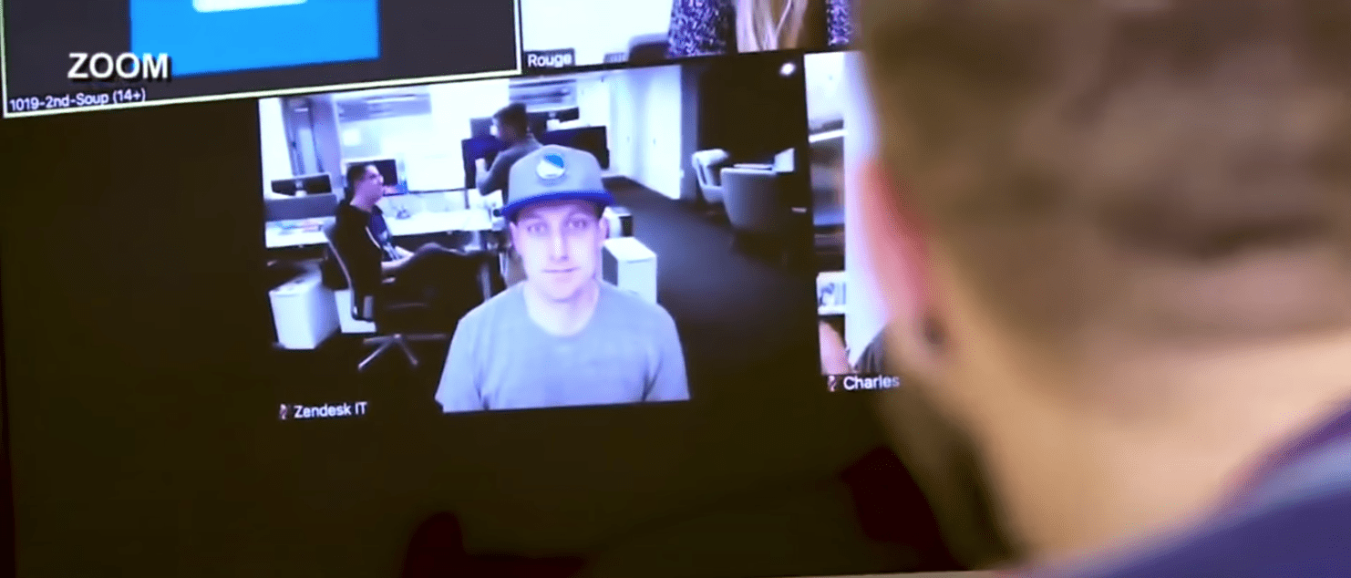 Businesses are using online video chats to run their companies. And that's making foreign spies very happy.