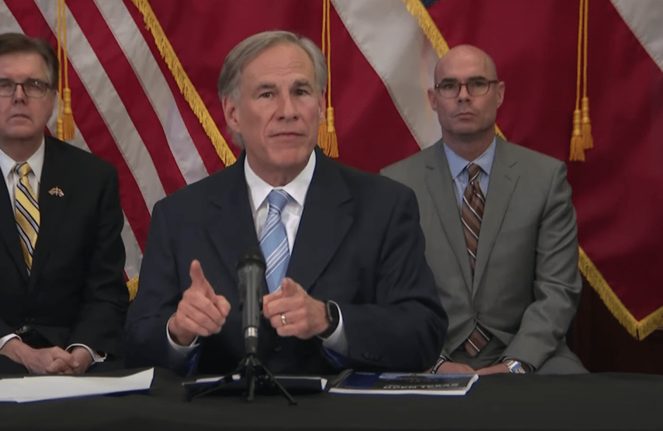 Texas governor begins reopening state. Reminds liberal judges, city leaders his orders override theirs.