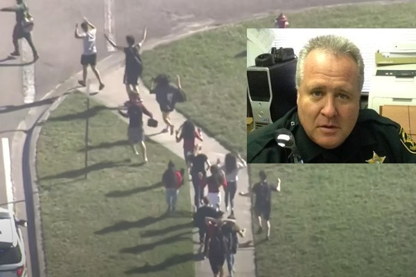 Sergeant fired for inaction while kids were slaughtered in Parkland rehired with backpay