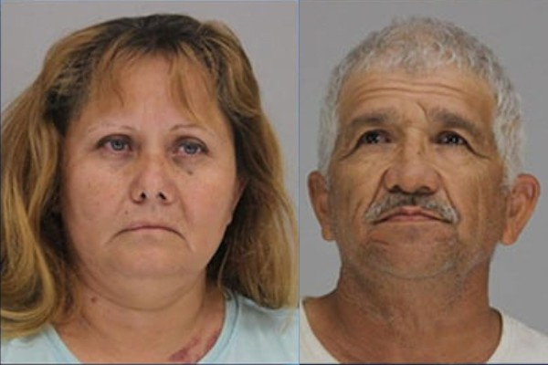 Texas grandmother and her boyfriend arrested for locking grandson, 6, in shed with hands tied behind his back