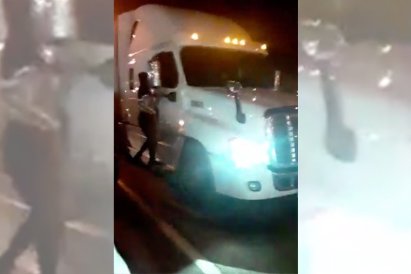 Alleged thief dragged to death by FedEx vehicle in St. Louis riots after protestors break into trucks