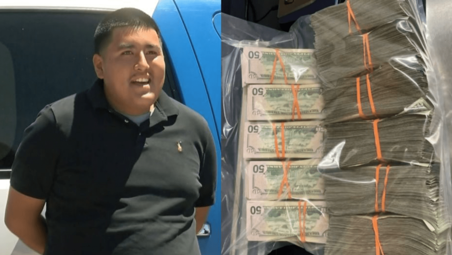 New Mexico teen offered job at police department after turning in $135K he found near ATM