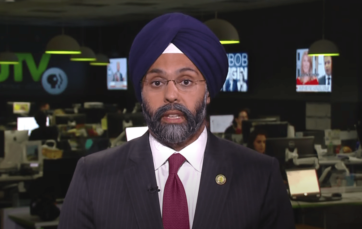AG Grewal - screenshot from PBS Report on YouTube