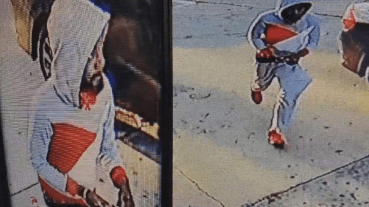 Hate crime? Suspect stabbed random man man in the back while he pumped gas