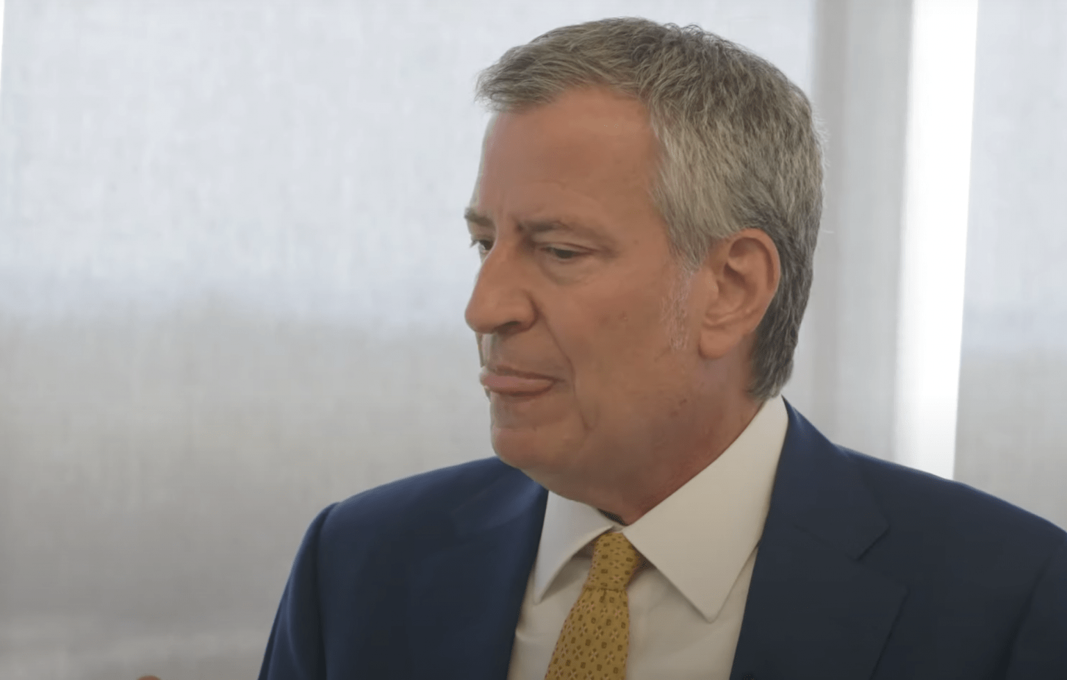 New York Mayor De Blasio: Swimmers will be taken right out of water at closed beaches