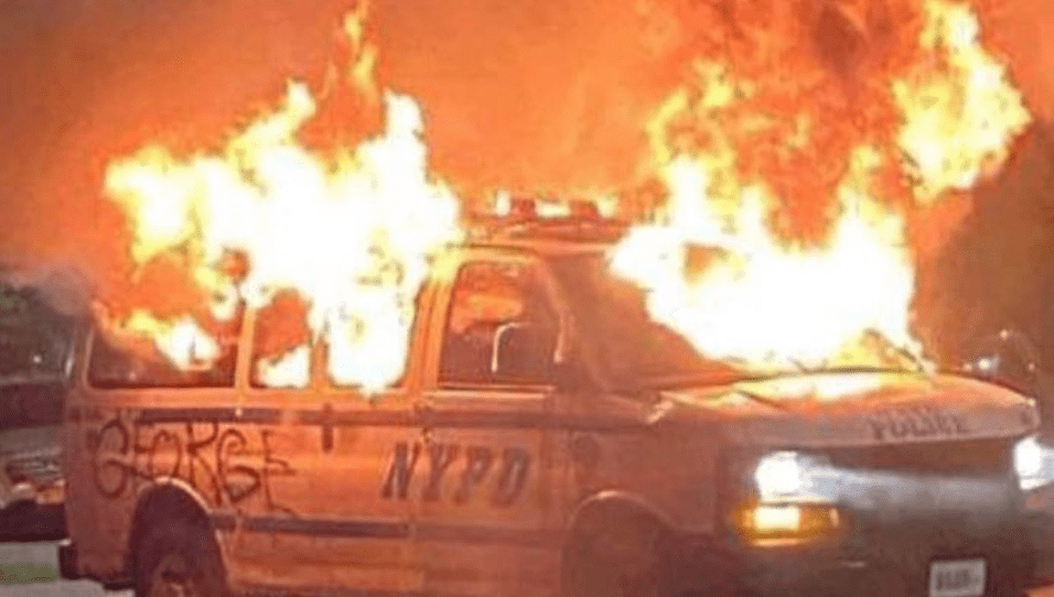 NYPD 88th precinct overrun - riots turn violent, shots fired and officers under attack