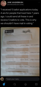 """Mail-in ballots """"may have been destroyed"""" in postal truck fire in New Jersey.  Well that's convenient.  (Op-ed)"""