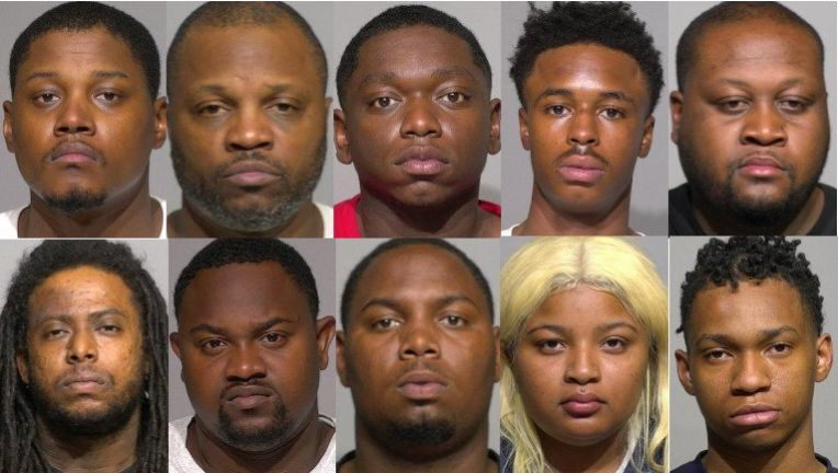 Ten charged with burglary after looting during the Milwaukee riots. Or 'peaceful protests', as others call them.