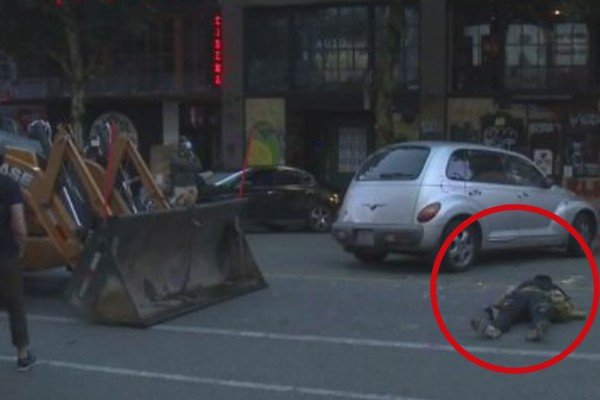 """It's begun: Bulldozers move in to clear out Seattle """"autonomous zone"""" - protestors aren't happy about it."""