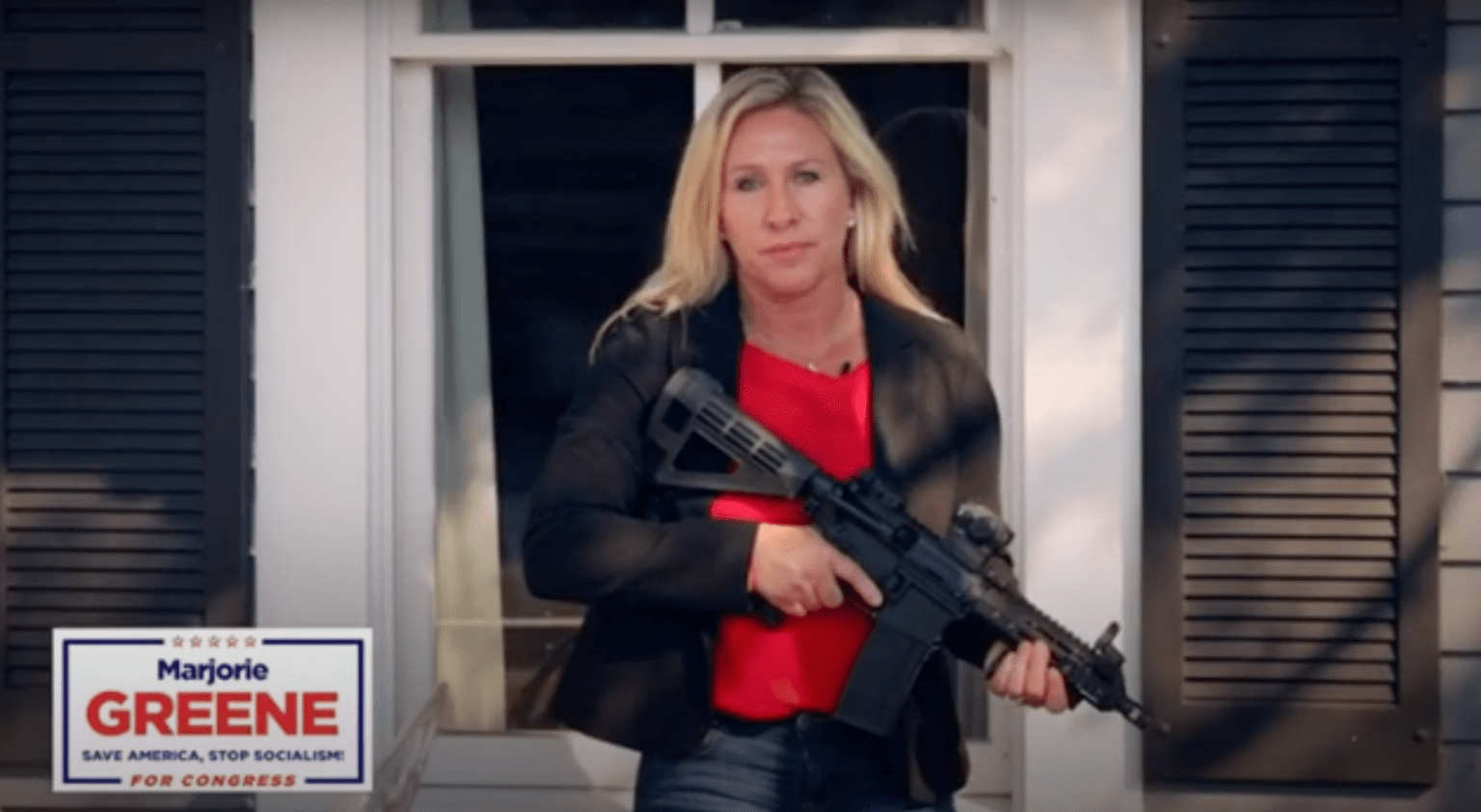 """Mom, business owner running for Congress tells Antifa: """"Stay the hell out of Georgia"""""""