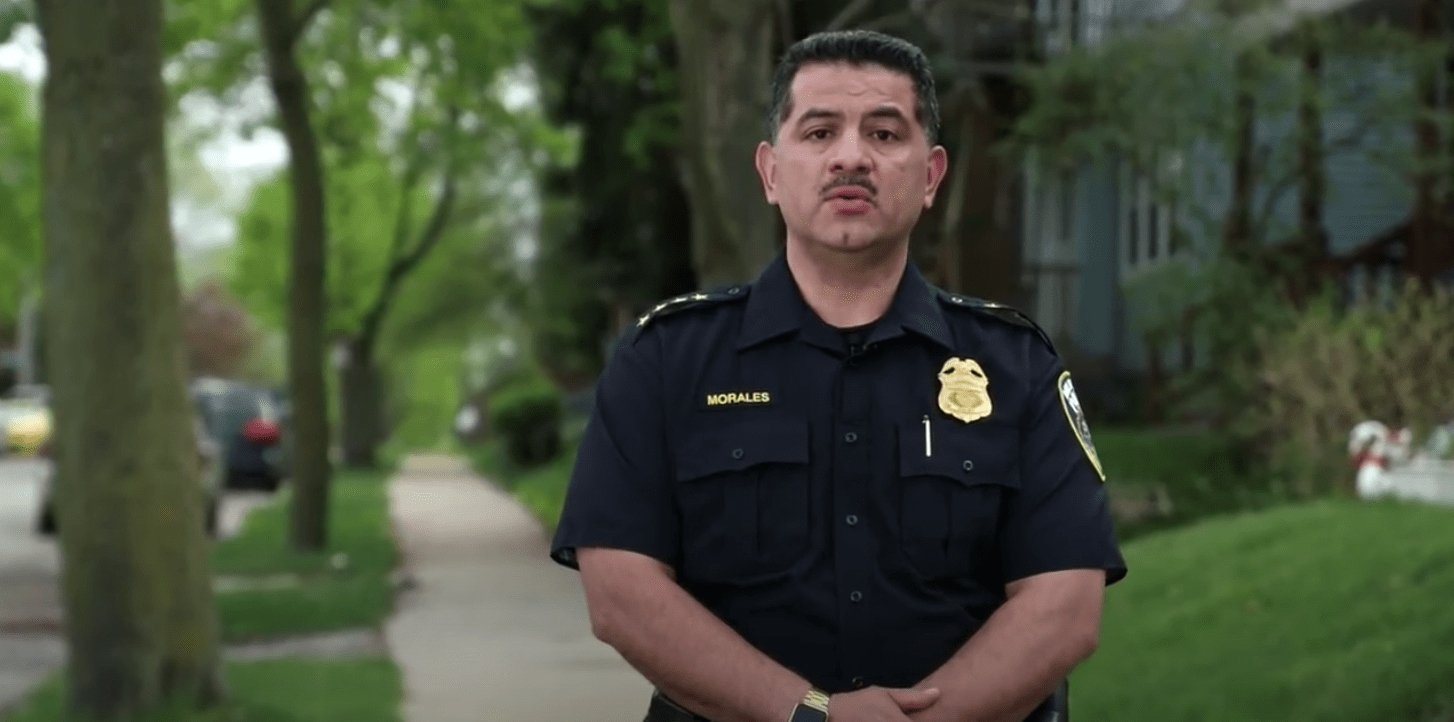 Police chief warns police officers being followed home, families targeted by 'angry mobs'