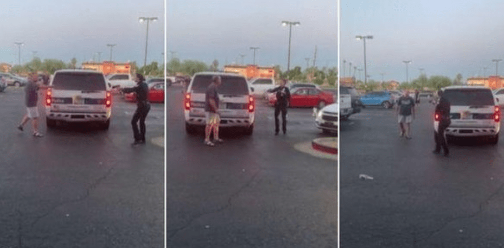 """Watch: Lone female officer takes down man armed with knife: """"I will f-ing slice your f-ing throat."""""""
