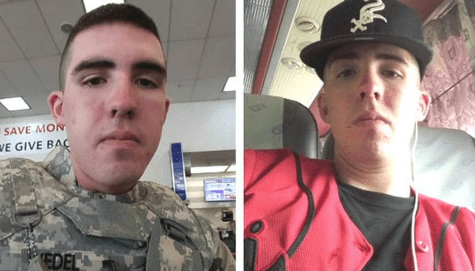 Remains found confirmed to be that of missing soldier Gregory Morales - now police are searching for his killer
