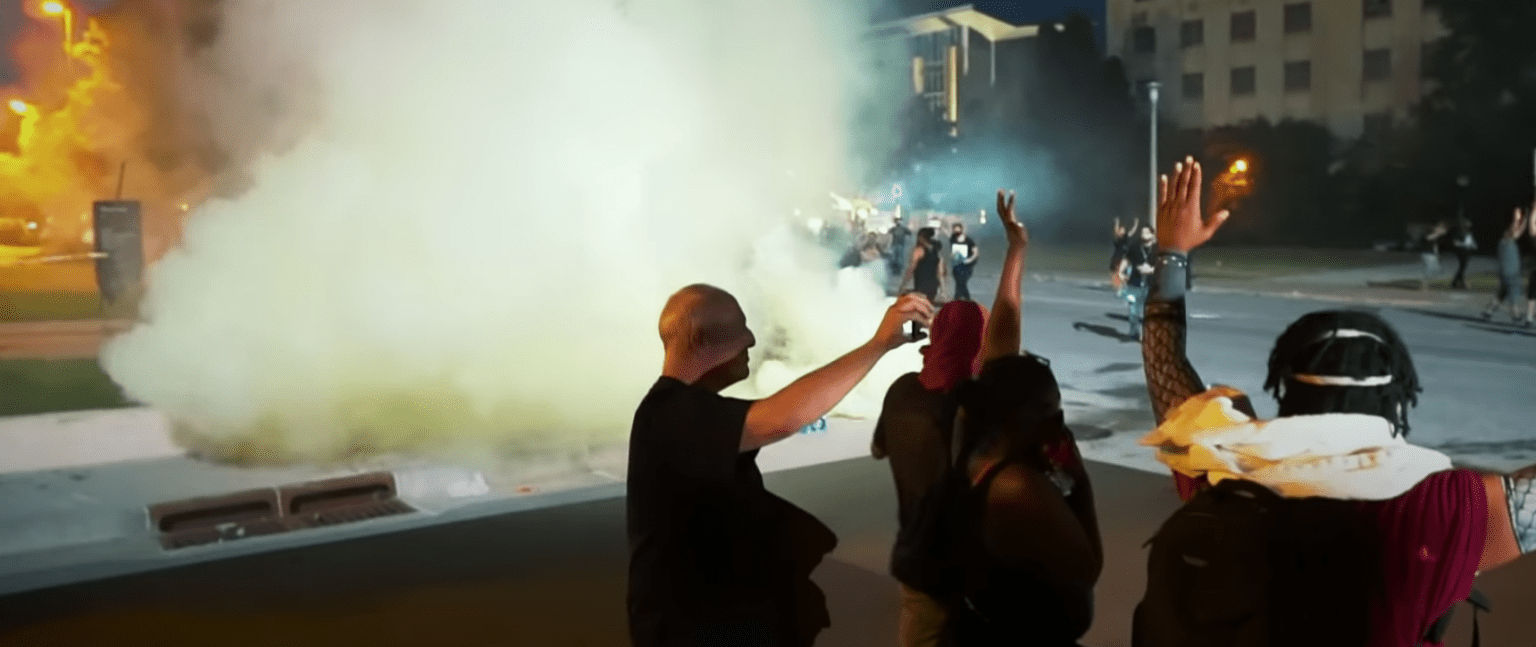 Oklahoma charging anti-police rioters with terrorism and rioting: 'When you act like a terrorist, you will be treated like a terrorist.'