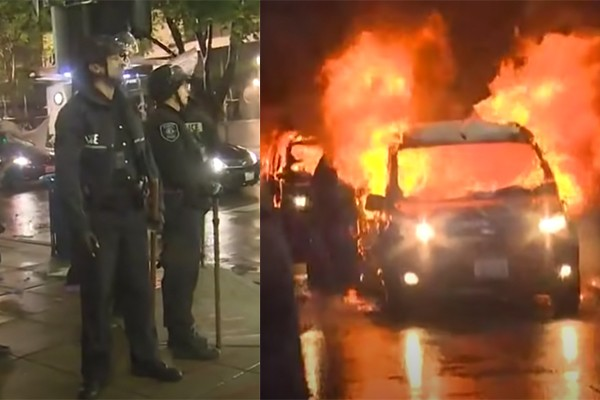 """Seattle City Council ties hands of police, protects anarchists by eliminating use of """"less lethal force"""" options"""
