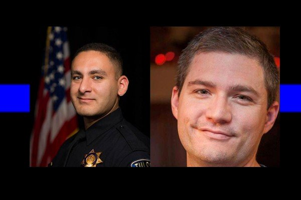 Officer assassinated - one of the two officers shot in the head during a traffic stop is dead, the other fighting for his life.