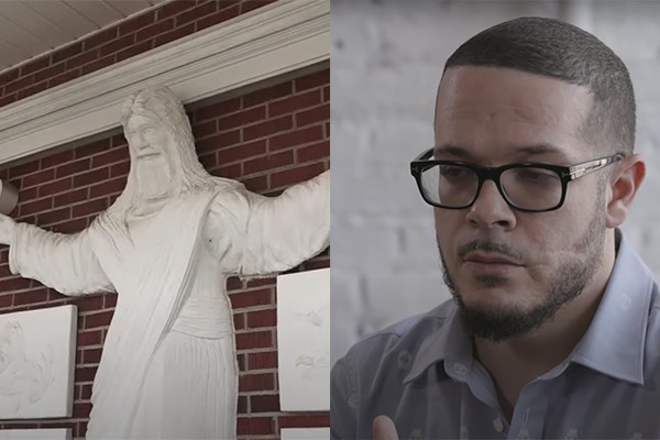 """Activist demands statues of """"white"""" Jesus be torn down, murals destroyed: """"White supremacy."""""""
