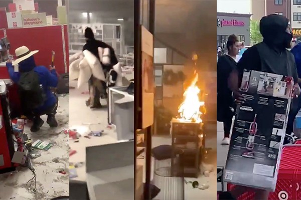 Watch: Rioters ransack, destroy, torch Target stores. Company to close or reduce hours at 100+ locations.