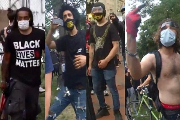 President Trump releases images of vandals wanted for statue vandalism: 'Going away for a long, long time.'