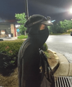 Images released of suspect wanted after Wendy's torched in Atlanta.  Crowd hit responding firefighters with bricks, flying objects.