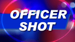 Three officers shot during overnight standoff as police rush in to save a child and two women