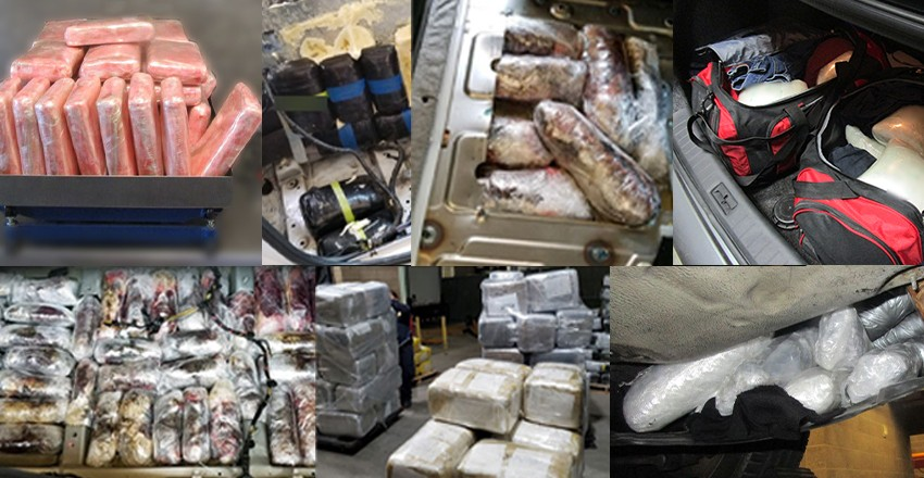 What border crisis?  300 pounds of narcotics seized at entry point from Mexico