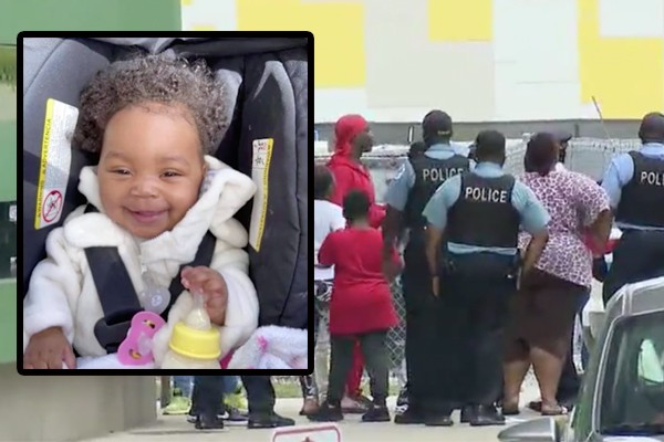 Gun violence in Chicago continues to surge: 10-month-old baby girl shot and critically wounded on expressway